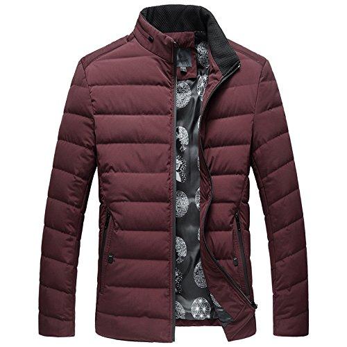 ZHUDJ Men'S Jacket _ Mens Jacket Winter Coat L /175