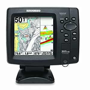 Humminbird 407920-1 Fishfinder 597ci HD GPS Combo (Discontinued by Manufacturer)