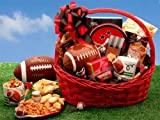 Football Gift: Football Fanatic Sports Gift Basket