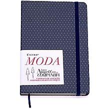 Sketchbook Moda Pois 80 g/m² 14,0 x 21,0 cm com 160 Páginas Cicero