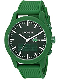 Men's '12.12-Tech' Quartz Plastic and Rubber Smart Watch, Color Green (Model: 2010883)