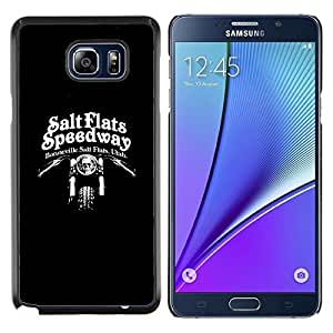 "For Samsung Galaxy Note5 / N920 Case , Salinas Speedway Motociclista"" - Diseño Patrón Teléfono Caso Cubierta Case Bumper Duro Protección Case Cover Funda"