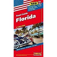 Hallwag USA Road Guide 11. Florida 1 : 1 000 000: Straßenkarte. Road map. Index. National Parks. City Maps: Miami, Orlando, Everglades, Key West (Hallwag Strassenkarten)