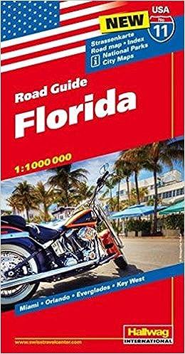 Hallwag USA Road Guide 11. Florida 1 : 1 000 000 ...