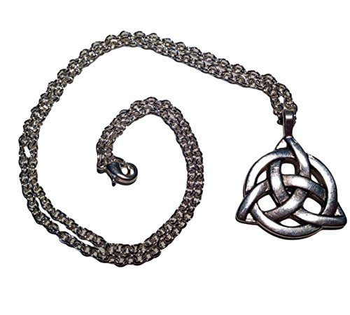 Lovely Celtic Triquetra Necklace in Anti - Antique Celtic Knot Shopping Results