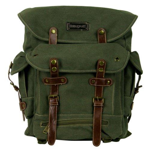 World War 2 Style Backpack - Olive OSFM (World War 2 Backpack)