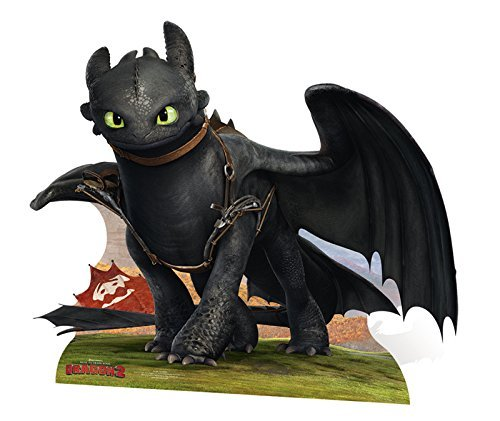 How To Train Your Dragon Life Size Cutout of Toothless the Dragon by How to Train Your Dragon by DreamWorks How to Train Your Dragon