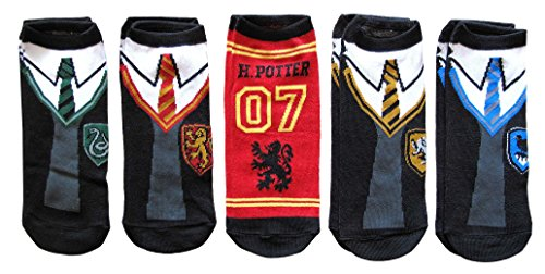 Harry Potter Hogwarts School Uniforms Quidditch Ankle Socks - Slytherin Quidditch Uniform