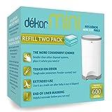 Dekor Mini Diaper Pail Refills   2 Count   Most