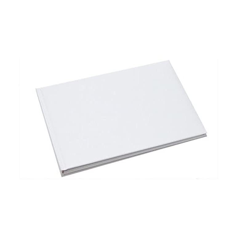 plain white book especially for own decoration craft or guest book amazoncouk kitchen u0026 home