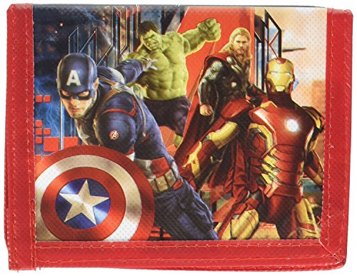 Party Favors Boys Marvel Avengers Age Of Ultron Bi Fold Wallet- 6 Pack (Avengers Party Favours)
