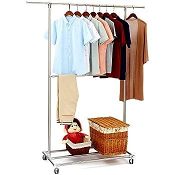 Amazon Com Sunpace Heavy Duty Garment Rack Full Stainless