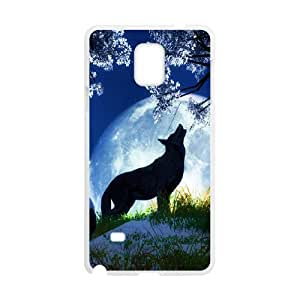 Wolf--phone case cover For Samsung Galaxy Note 4