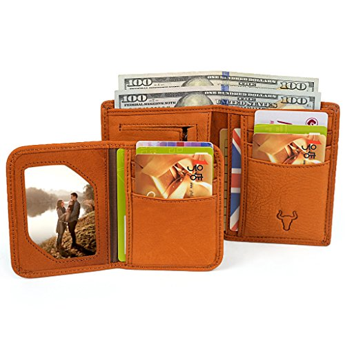 YALUXE Leather Wallet Removable Insert