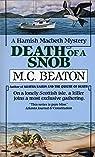 Hamish Macbeth, tome 6 : Death of a Snob par Beaton