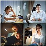 LED Clip On Reading Light, 16 LEDs Eye Protection