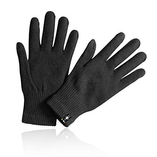 (Smartwool Unisex Liner Glove Black MD)