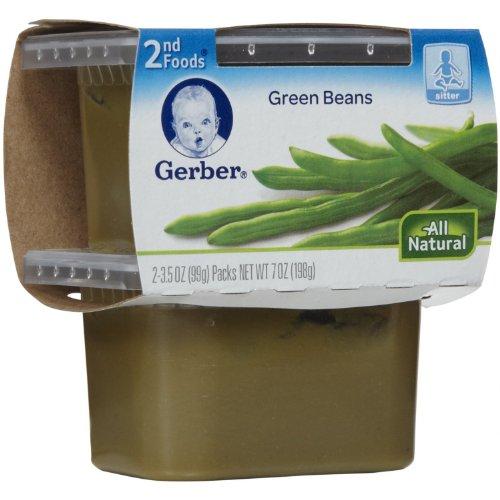 Gerber NatureSelect 2nd Foods Vegetables Green Beans -- 2 Co