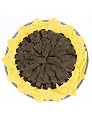 Dog Snuffle Mat - Dog Slow Feeding Mat, Pet Snuffle Mat Nosework Blanket Non Slip Pet Activity Mat for Foraging Skills, Stress Release Durable and Machine Washable - Interactive Puzzle Toys/Easy to Fill/Fun to Use/Stress Release