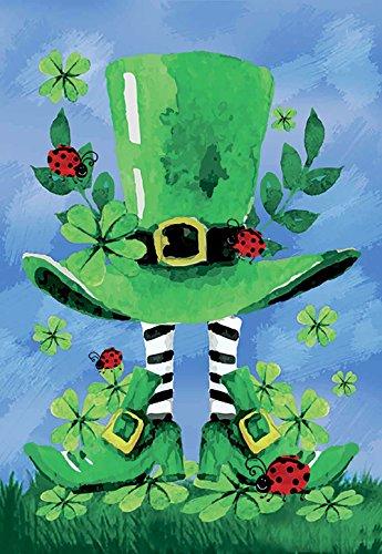 Morigins Decorative Patrick Saint Pat Clover Green Double Si
