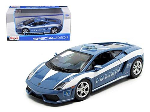 ial Edition 2009 Lamborghini Gallardo Lp560-4 Polizia Diecast Vehicles (2009 Lamborghini Gallardo Lp560 4)