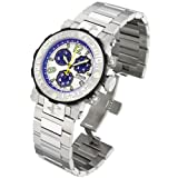 Invicta Men's 6130 Reserve Collection Sea Rover Chronograph Stainless Steel Watch, Watch Central