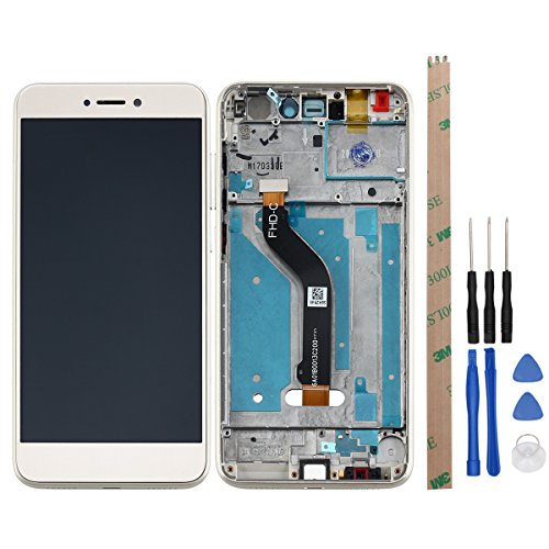 Huawei Honor 8 Lite LCD Display HYYT LCD Display and Touch Screen Digitizer Glass Replacement with FrameFull Assembly for Huawei Honor 8 Lite (gold)