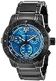 Invicta Men's 10594 Ocean Reef Reserve Chronograph Blue Dial Black Watch