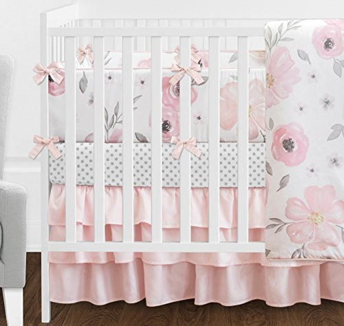 Sweet Jojo Designs 9 Piece Blush Bedding Sets