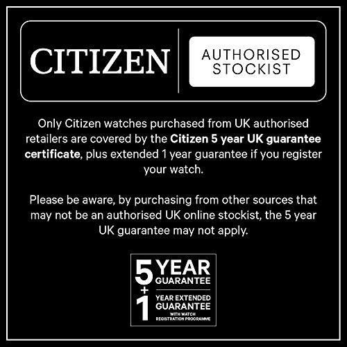 Citizen herr Chronograph kvartsur med rostfritt stål armband AT2146-59E