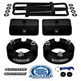 Supreme Suspensions - Full Lift Kit for 2005-2019 Toyota Tacoma 3' Front Lift Strut Spacers + 2'...