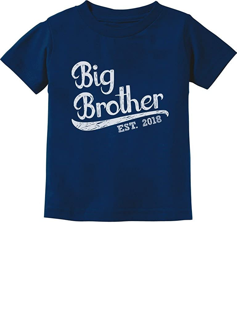 TeeStars - Gift for Big Brother 2018 Toddler/Infant Kids T-Shirt 4T Navy GtPhtMagm500m59ho