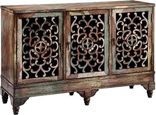 Stein World Furniture Ruskin Cabinet, Multi-Color