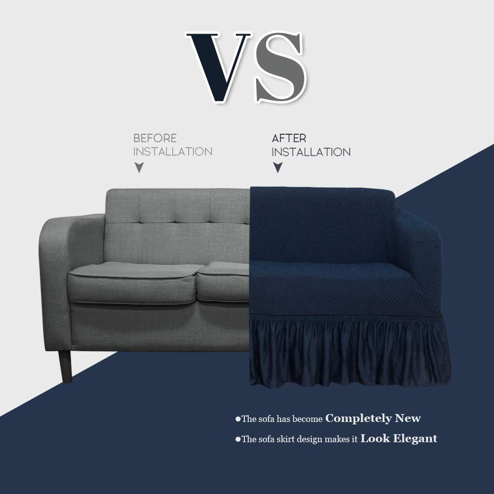 Amazon.com: NICEEC - Funda para sillón, sofá o sillón, color ...