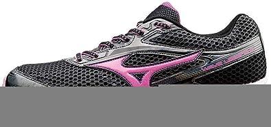 Mizuno Zapatos Mujer Running Oficial 2015/2016 Wave Legend 2 WOS J1GD151064 Gris oscuro Rosa Púrpura Tamano 40.5: Amazon.es: Deportes y aire libre