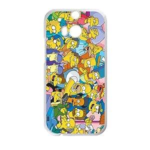 DASHUJUA Simpsons movie Case Cover For HTC M8 Case