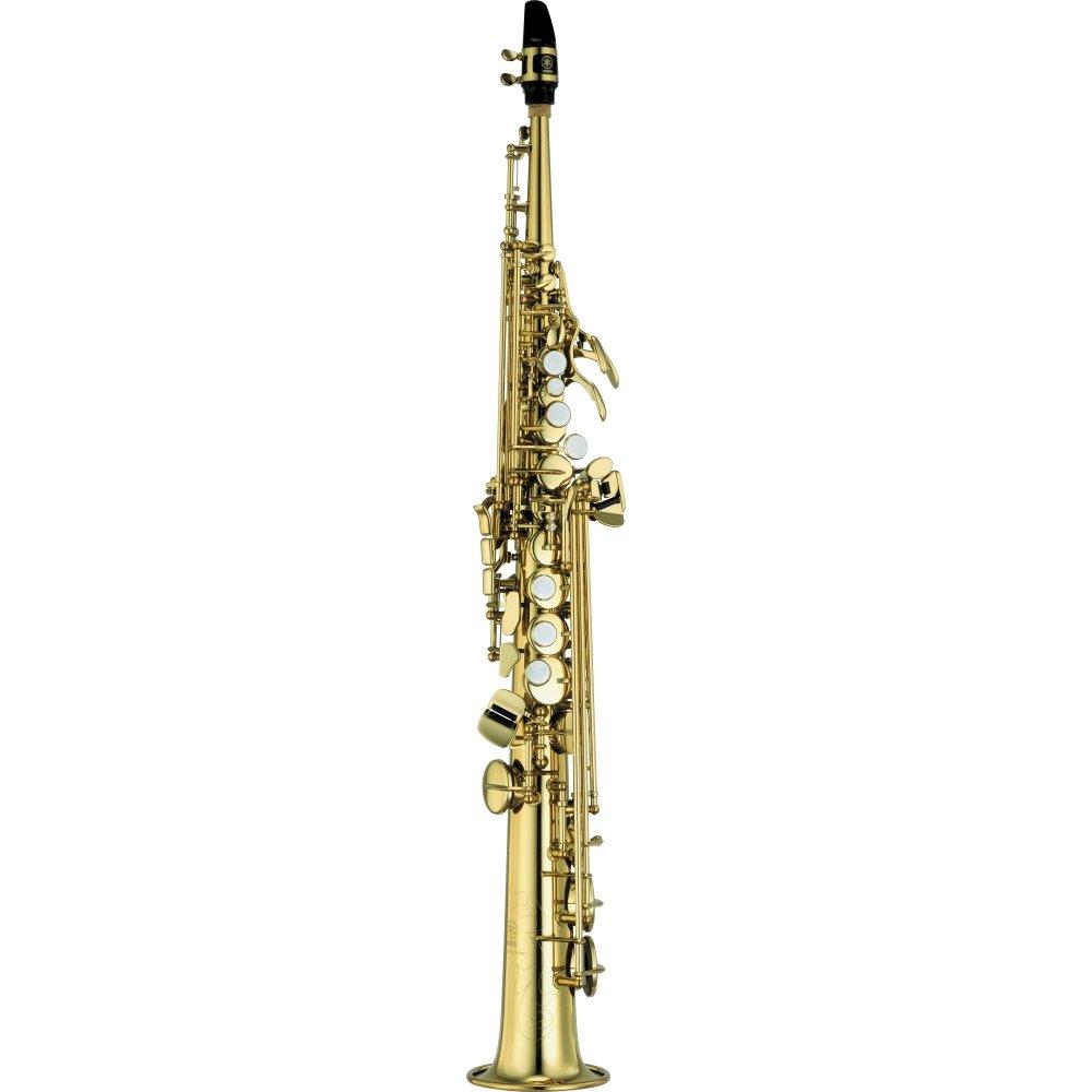 Yamaha YSS-475II Intermediate Soprano Saxophone Yamaha-YSS-475II
