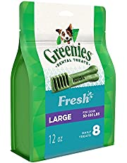 Greenies Freshmint Dental Treat for Large Dog 340 g, 12 oz