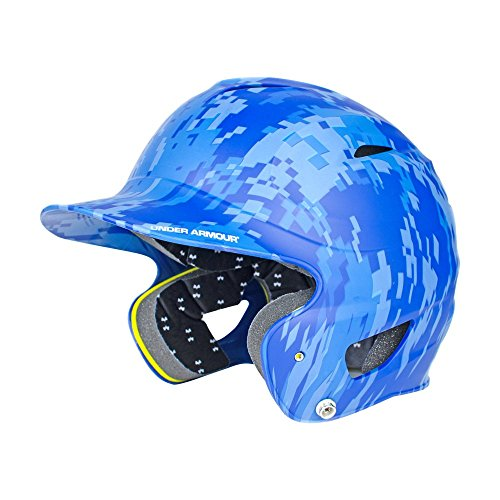 Under Armour Baseball UABH110-FGB2: RO Classic Solid Batting Helmet with Baseball Faceguard by Under Armour