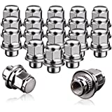 1.77 20pcs Chrome 14mm X 1.50 Wheel Lug Nuts fit 2005 Chevrolet Silverado 1500 HD May Fit OEM Rims Buyer Needs to Review The spec Total Length