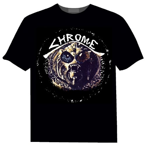 Cleopatra - Chrome 3rd from the Sun - Black - XL (Third Man Records Merchandise compare prices)