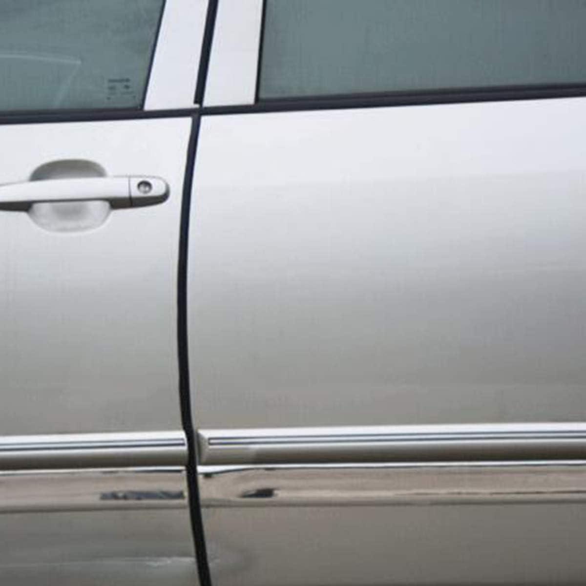 X AUTOHAUX Car Door Edge Protective Strip Table Corner Guard Strip Black 16.4ft