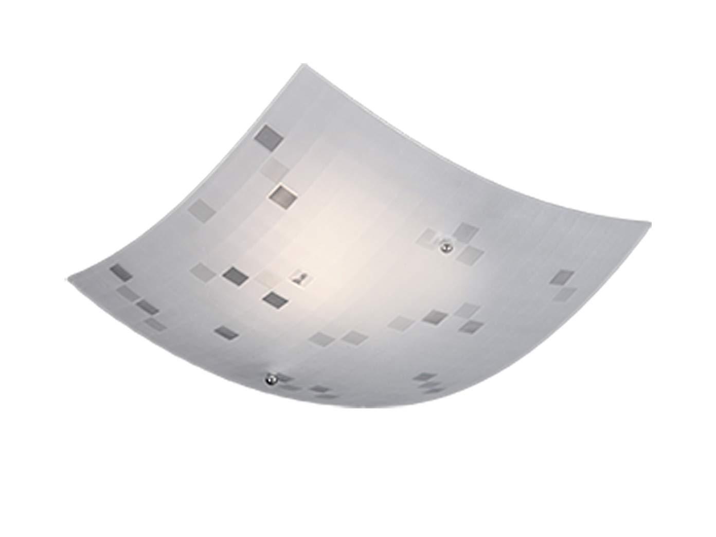 Exclusiva lámpara de techo LED rectangular, 30 x 30 cm, con ...