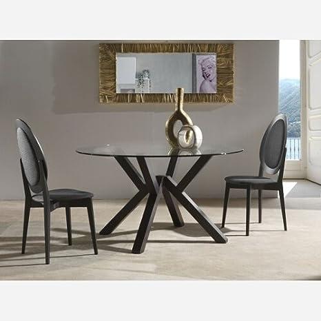 Tavolo da cucina fisso in vetro Teorema - SG634: Amazon.it: Casa e ...