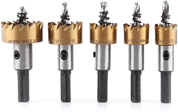 US Stock 18mm HSS Drill Bit Hole Saw Tooth Stainless Steel Metal Alloy Cutter