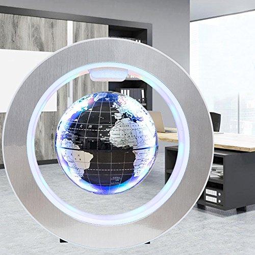 525264d49277ec 80%OFF Globe Terrestre Magnétique 4inch Magnétique Lévitation Globe  Flottant avec LED O Forme Base