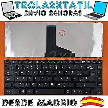 tecla2xtatil Teclado para PORTATIL Toshiba Satellite L845-SP4146KL EN ESPAÑOL Nuevo: Amazon.es: Electrónica