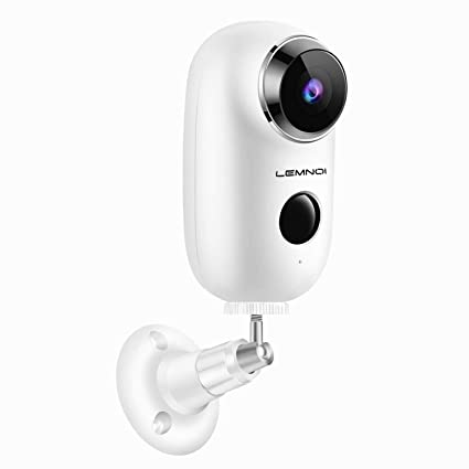 Battery Operated Security Camera >> Amazon Com Lemnoi Wireless Battery Security Camera 2 4ghz Wifi
