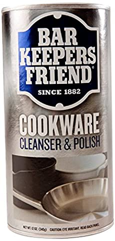 (3 Pack) Bar Keepers Friend Cookware and Sink Cleaner - 12 Oz. (Bar Keepers)