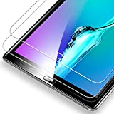 Galaxy Tab A 10.1 Screen Protector [2 Pack], ESR Samsung Galaxy Tab 10.1 Tempered Glass Screen Protector [9H Hardness Processed] [Scratch & Fingerprints Resistant] [Oleophobic Coating Surface] [Bubble Free Installation Kit] for Samsung Galaxy Tab A 10.1, 2016 Released SM-T585(T580/T580N)